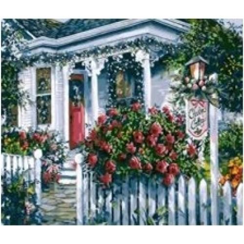 Цветен двор