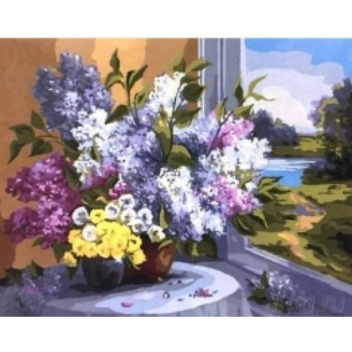 Цветя до прозореца