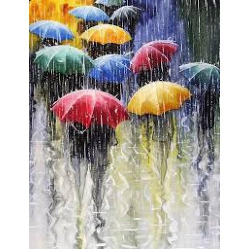 Цветни чадъри