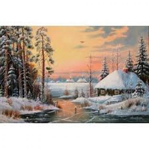 Зима покрай реката