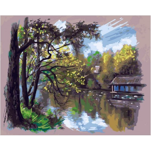 Есен край реката