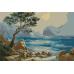 Морски пейзаж - (20х30см)